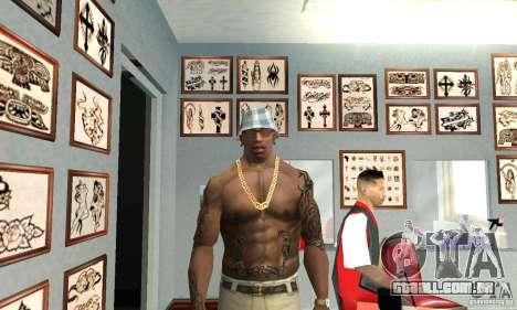 50cent_tatu para GTA San Andreas segunda tela