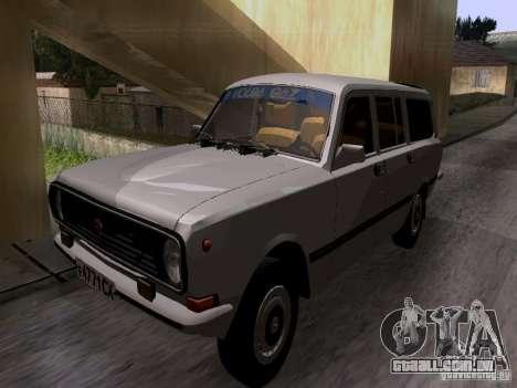 GAZ 24-12 SL Volga para GTA San Andreas traseira esquerda vista
