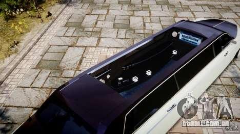Rolls Royce Phantom Sapphire Limousine Disco para GTA 4 interior