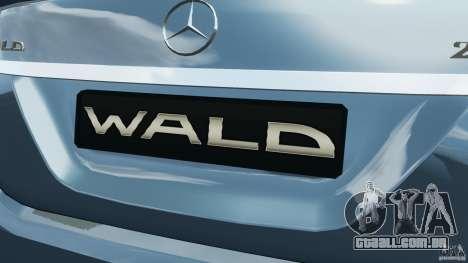 Mercedes-Benz S W221 Wald Black Bison Edition para GTA 4 rodas
