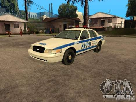 Ford Crown Victoria 2003 Police para GTA San Andreas
