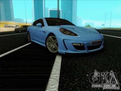 Gemballa Mistrale 2010 V1.0 para GTA San Andreas vista direita