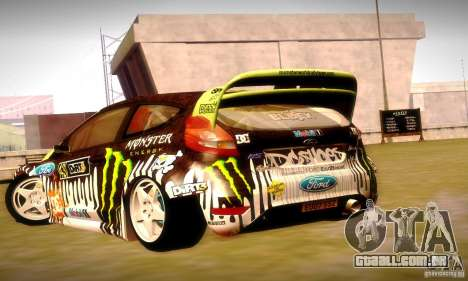 Ford Fiesta Gymkhana 4 para o motor de GTA San Andreas