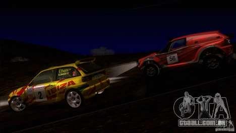 Seat Ibiza Rally para o motor de GTA San Andreas