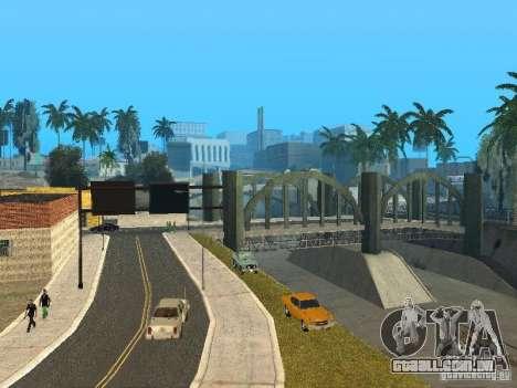 Mega Cars Mod para GTA San Andreas por diante tela