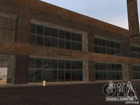 IMW Old Zastava Car Showroom para GTA San Andreas segunda tela