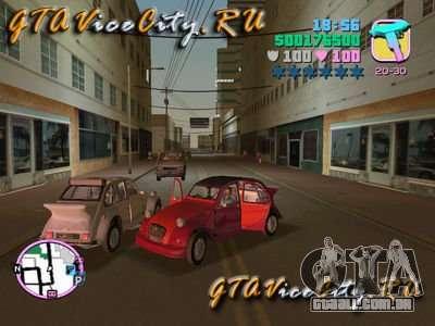 Citroen 2CV spoiler para GTA Vice City