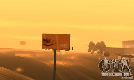 Werbeschildermod para GTA San Andreas