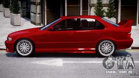 BMW 318i Light Tuning v1.1 para GTA 4 traseira esquerda vista