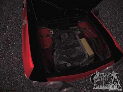 Lancia Fulvia Rally para GTA San Andreas vista interior