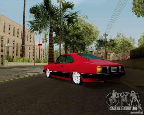 Chevrolet Opala Diplomata 1986 para GTA San Andreas vista direita