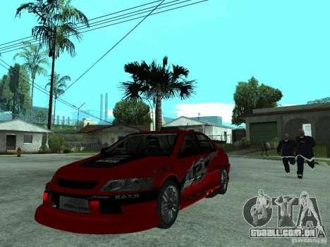 Mitsubishi Lancer Evo IX MR Edition para GTA San Andreas