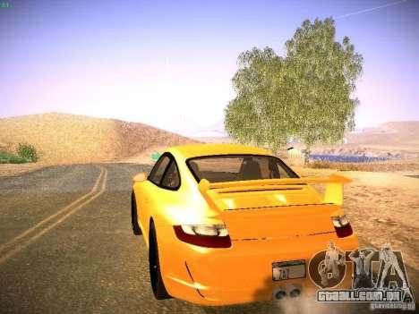 Porsche 911 para GTA San Andreas vista interior