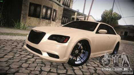 Chrysler 300 SRT8 2012 para GTA San Andreas vista superior