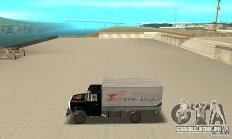 ZIL 433112 com tuning para GTA San Andreas esquerda vista