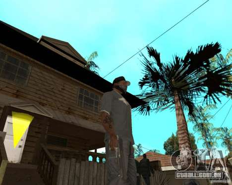 Desert Eagle de CoD: MW2 para GTA San Andreas terceira tela