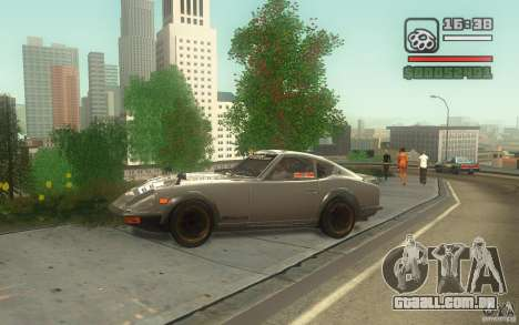 Datsun 240ZG para GTA San Andreas esquerda vista