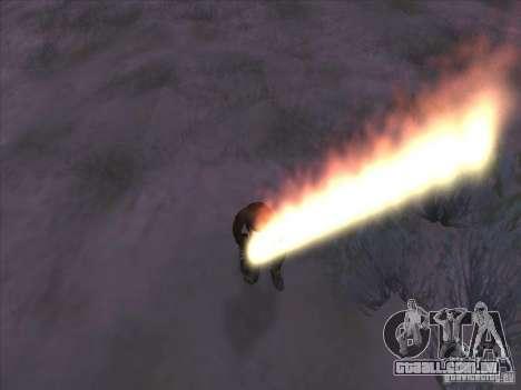 Espada de fogo para c Jay para GTA San Andreas terceira tela