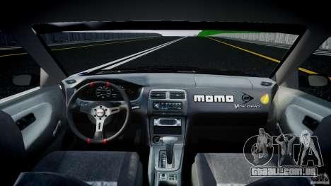 Nissan 240sx Toyo Kawabata para GTA 4 vista direita