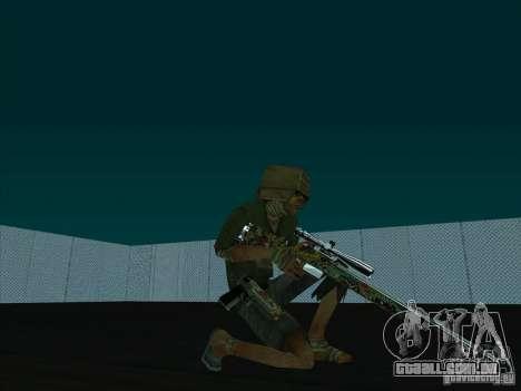 New Weapons Pack para GTA San Andreas por diante tela