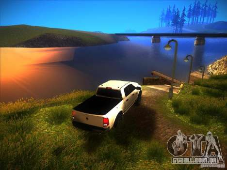 Dodge Ram Heavy Duty 2500 para GTA San Andreas vista interior