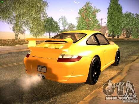 Porsche 911 para GTA San Andreas vista direita