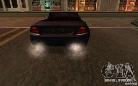 The best effects from GTA IV para GTA San Andreas quinto tela