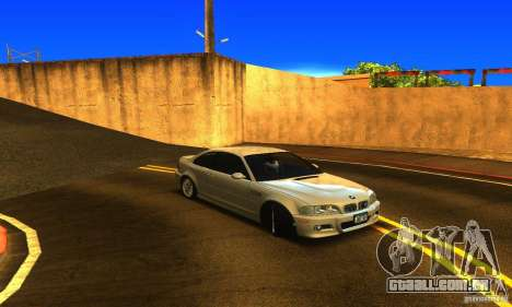 BMW M3 Tuneable para GTA San Andreas vista direita