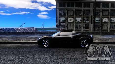 Opel Speedster Turbo para GTA 4 esquerda vista