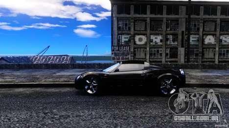 Opel Speedster Turbo para GTA 4 esquerda vista