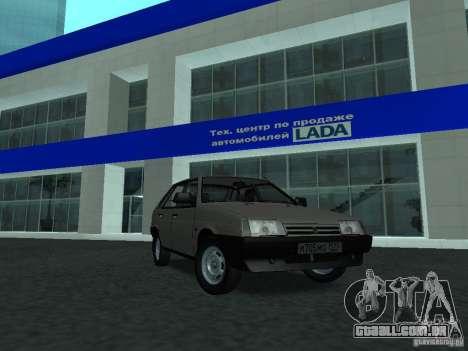 VAZ 2109 CR v. 2 para GTA San Andreas