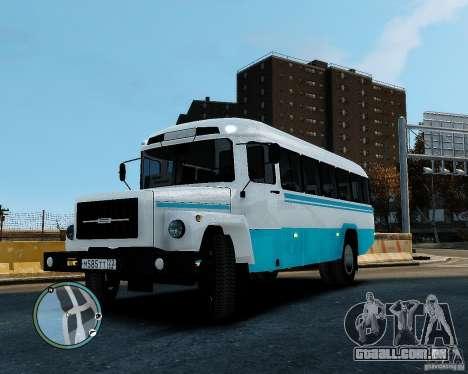 V 1.0 Kavz 39765 para GTA 4 traseira esquerda vista