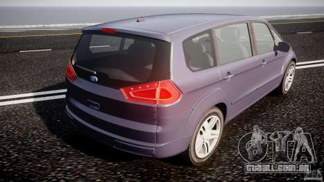 Ford Galaxy S-Max para GTA 4 vista lateral