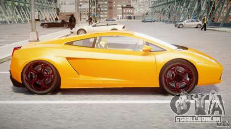 Lamborghini Gallardo Superleggera para GTA 4 traseira esquerda vista