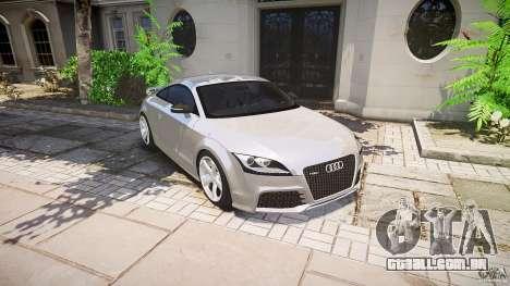 Audi TT RS 2010 para GTA 4 motor