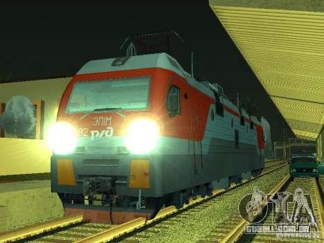 ÈP1M-392 OJSC «FERROVIAS RUSSAS» para GTA San Andreas