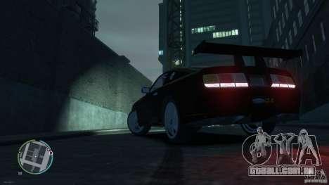 Ford Mustang GTR para GTA 4 esquerda vista