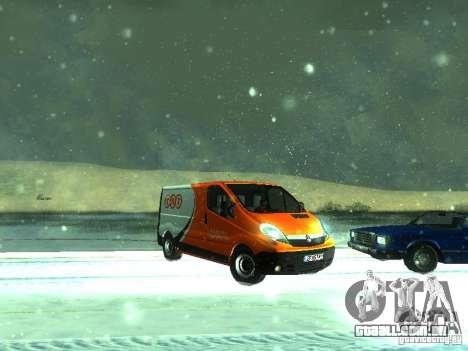 Vauxhall Vivaro v1.1 TNT para GTA San Andreas esquerda vista