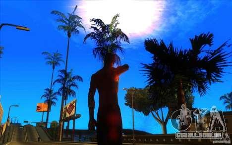 Grande visão para GTA San Andreas quinto tela