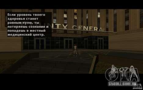 Localização da equipe de SanLtd para GTA San Andreas quinto tela
