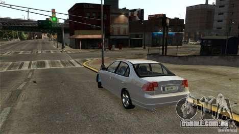 Honda Civic V-Tec para GTA 4 vista direita
