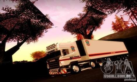 Trailer do FEMA Rússia para vista lateral GTA San Andreas