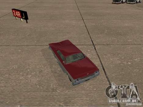 Vodu do GTA 4 para GTA San Andreas vista traseira