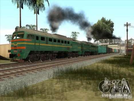 Estados bálticos locomotiva frete ferroviário im para GTA San Andreas