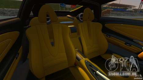 Pagani Huayra 2011 [EPM] para GTA 4 vista de volta