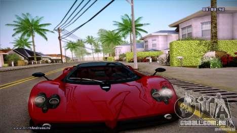 Paradise Graphics Mod (SA:MP Edition) para GTA San Andreas por diante tela