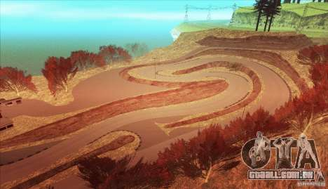 The Ebisu South Circuit para GTA San Andreas nono tela