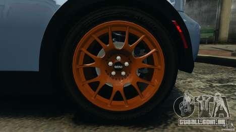 Mini Cooper S v1.3 para GTA 4 vista superior