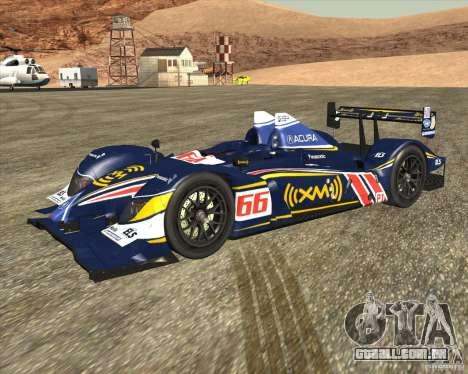 Acura ARX LMP1 para GTA San Andreas