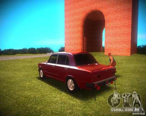 2101 Vaz para GTA San Andreas traseira esquerda vista